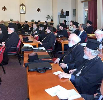 Metropolitan Alexios at Holy & Great Council
