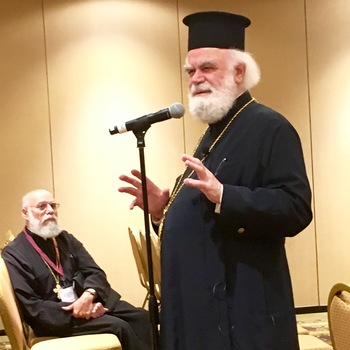 Metropolitan Alexios Leads Clergy Laity Hierarchical Session