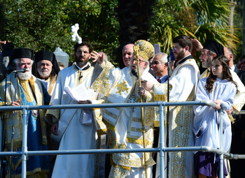 Epiphany Celebration in Tarpon Springs