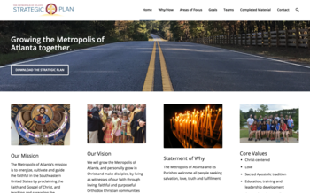 Strategic Plan Goal Content Released on Portal
