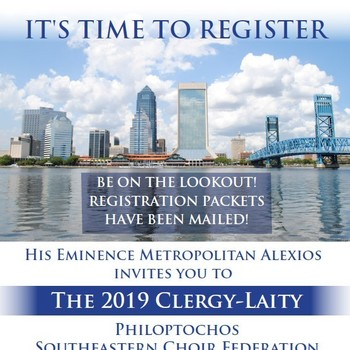 2019 Clergy-Laity Registration Packets Have Been Mailed