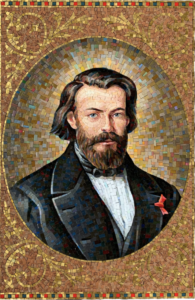 Picture of Blessed Frederic Mosaic in Major USA Basilica