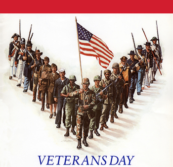 Veteran's Day Observed-No School