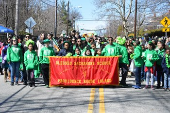 Saint Patrick's Day Parade in Providence