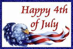 School Office Closed-Happy 4th of July!