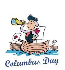 Columbus Day-No School