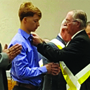 KOFC Scholarship Awarded to the Youngest Knight in the State of New Mexico