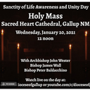Sanctity of Life & Unity of Awareness Day