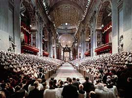 Second Vatican Council Closing Mass, December 1965