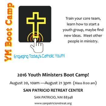 Youth Minister's Boot Camp