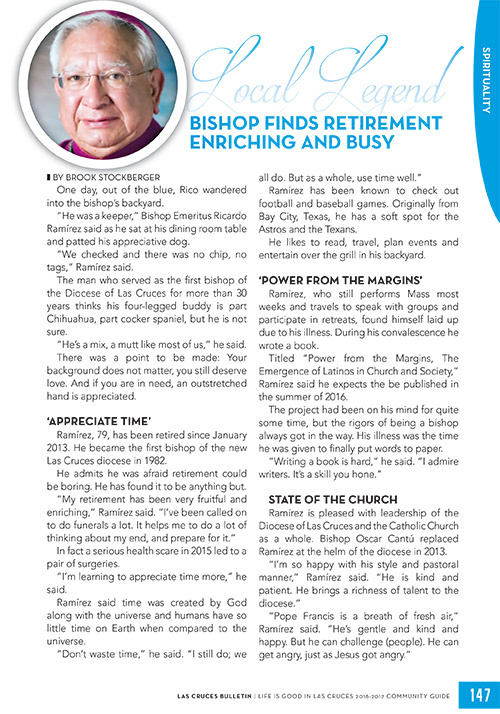Local Legend: Bishop Ricardo Ramirez