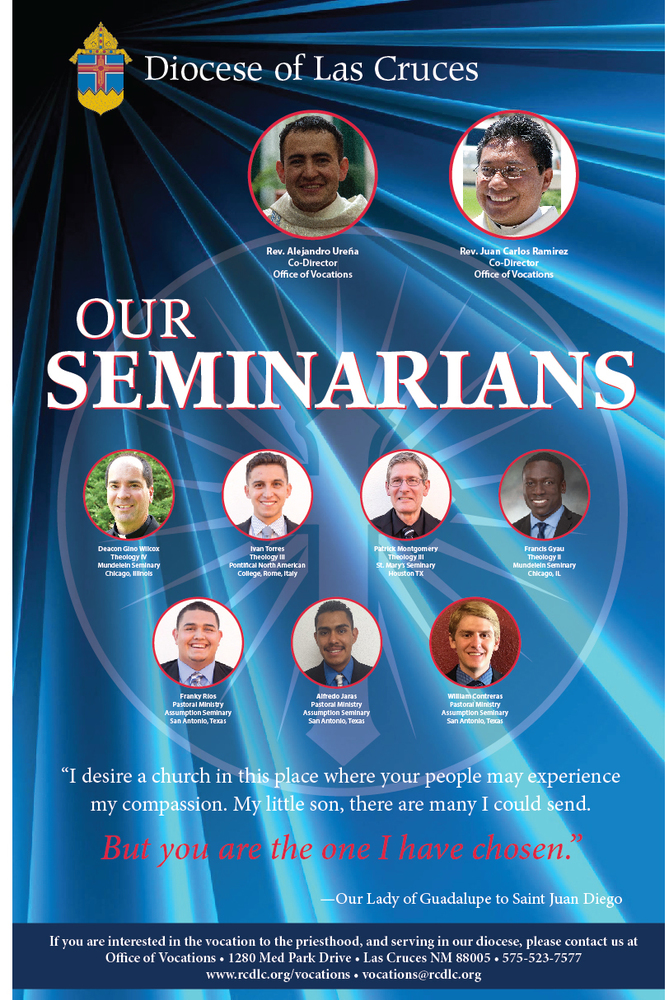Diocese of Las Cruces Seminarians