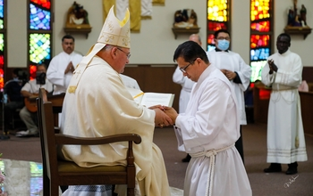 Eleven Men are Ordained Deacons in the Diocese of Las Cruces