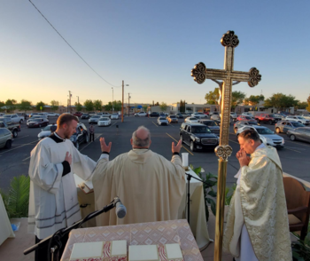 Bishop Baldacchino Marks His First Anniversary In The Diocese of Las Cruces