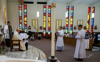 Bishop Peter Baldacchino Ordains two New Priests for the Diocese of Las Cruces