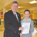 St. Mary's 6th Grader's Design Incorporated into Plaque at Capitol