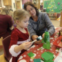 Christmas Fun Day in 3-day and 4-day Preschool!