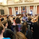 6th graders go the State Capitol and James J Hill House