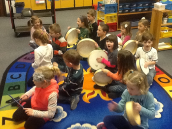 Music Class with Mr. Ostermeier