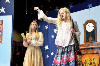 Comedy, folk tale combine in St. Mary's School's annual play