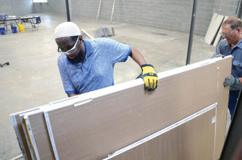 St. Mary's School donates building material to local Habitat for Humanity