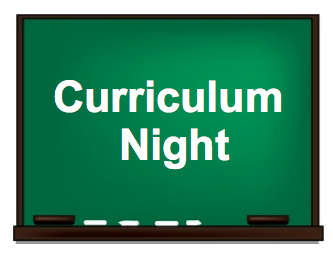 Come to Curriculum Night