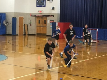 Floor Hockey Wraps-Up