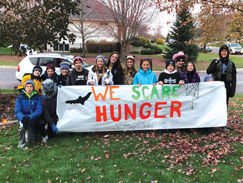 """Student Council """"Scared Away Hunger"""""""