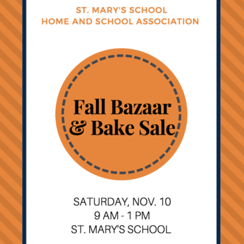 Fall Bazaar & Bake Sale