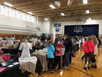 5th Annual Bazaar and Bake Sale is a HUGE Success!