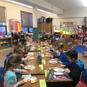 Pancake Day in 2nd Grade!