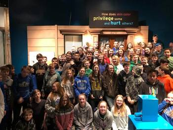 7-8th graders go to the Science Museum