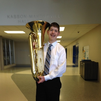 Scotty is a member of the MBDA State Honor Band!