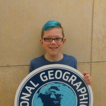 Henry competes at the State Geography Bee!