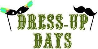 Upcoming Dress-up Days
