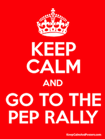 Book Fair Pep Rally Info