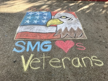 SMG Honors Our Veterans and Old Glory