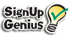 How to navigate the SignUpGenius website.