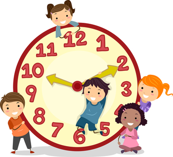 Kinder Cuteness Clock Alert