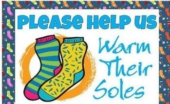 1st Grade Sock Drive Blow Out!!!