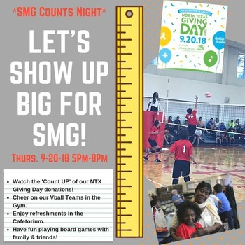 SMG Counts Night