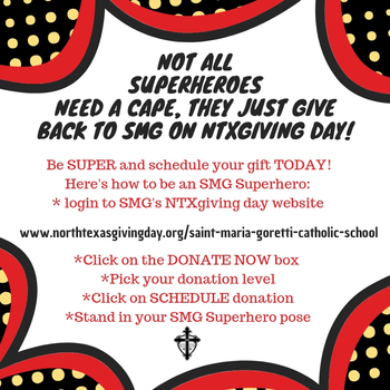 Be An SMG Superhero