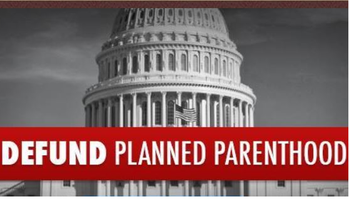 US House votes to defund Planned Parenthood