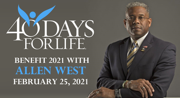 40 Days for Life Hosts Benefit