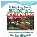 Free Tree Giveaway - EVENT CANCELLED