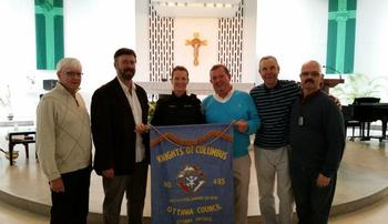 Thank you to the Knights of Columbus and St. Basil's for ongoing support for the Special Olympics