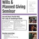Wills & Planned Giving Seminar