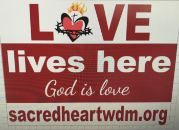 LOVE LIVES HERE Signs Available!