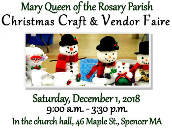 Christmas Craft and Vendor Faire