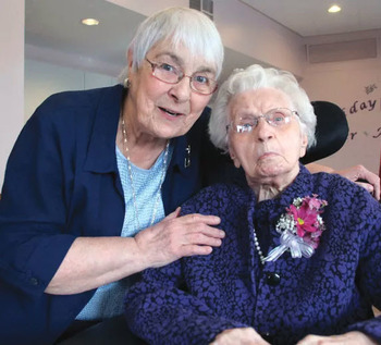 Sister celebrates 104th birthday
